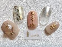 アイネイルズ 梅田店(I nails)/ベージュニュアンス