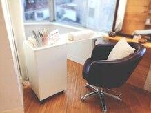 美容室併設!ヘッドスパなど同時施術も可能です。