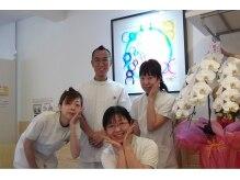 スタッフは全て(社)東京フットケア協会の有資格者です。