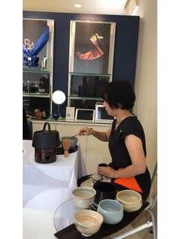 ポーラ ザ ビューティ 星ヶ丘店(POLA THE BEAUTY)/9月お茶のお作法