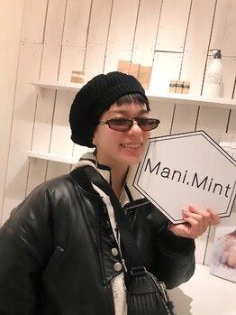 マニミント 表参道店(mani.mint)/Unaさんご来店☆