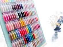 リリスネイル(l'iris nail)の雰囲気(カラーも豊富にご用意しています!)