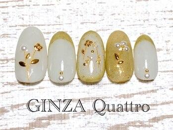 ギンザ クワトロ(GINZA Quattro)/定額/LuxuryC 8500円/ホワイト
