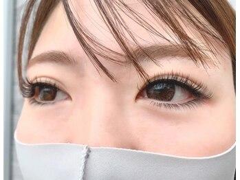 パールアイラッシュ(Pearl eye lash)/CC11 目尻10 下 J6、7MIX