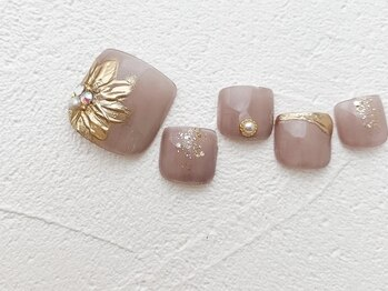 リーチェ ビューティアンドネイルサロン 大名店(Beauty&Nail Salon)/Autumn design