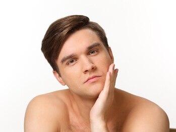 エムズビューティーサロン(M's Beauty Salon)の写真/【ひげ脱毛(首から頬まで全体)1回¥5940!】脱毛が初めての方にもオススメ♪朝の髭剃りの時短にも◎