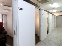 《個室完備》周りを気にすることなく、お客様に寄り添った施術をご提示!
