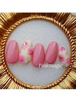 ピンクマジック(PINKMAGIC)/ふわふわお花模様