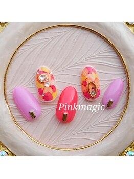 ピンクマジック(PINKMAGIC)/たらし込みアート