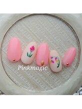 ピンクマジック(PINKMAGIC)/チューリップネイル