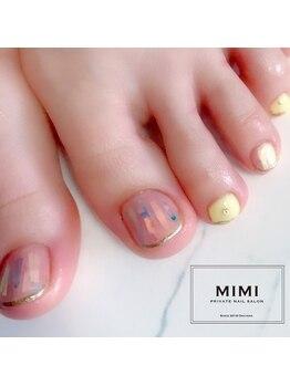 ミミ(MIMI)/お客様フットネイル