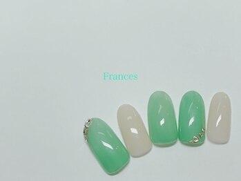 フランセス(Frances)/新作 斜めストーン