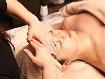 ラグジュアリーサロン ボヌール(Luxury Salon Bonheur)の写真/【酵素のゴマージュピーリング】直接こすらない為お肌にも優しい♪美白効果・くすみを除去し卵肌に!