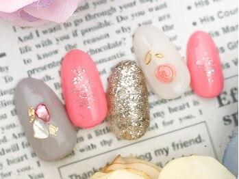 feel peaceful nail ¥6300