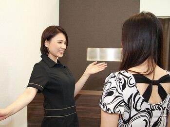 ルクラ イオンタウン金沢駅西本町店/笑顔でお客様をお出迎え☆