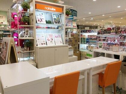 ネイルキューブ イオンスタイル 徳島店の写真