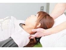 TOKYO腰痛肩こりケアセンターの雰囲気(首や肩の悩みに頸椎の調整!)