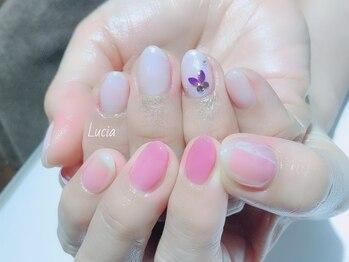 ルチア(Lucia)/氷ネイル♪