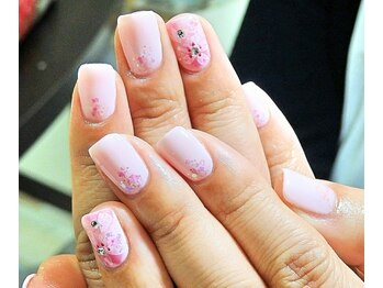 ビューティーサロン ルームフォーユー(Room 4U)/ 定額サンプル竹☆桜ピンク