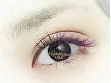 アイラッシュサロン ルル(Eyelash Salon LULU)/カラー★パープルミックス