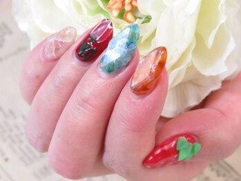 ネイルサロン キャンディネイル(Candy Nail)/ジェルつけ放題¥8640