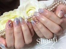 シャンティ ネイルサロン(Shanti nail salon)/ミラーネイル使っています!