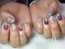 シャンティ ネイルサロン(Shanti nail salon)/個性派ミラーネイル!
