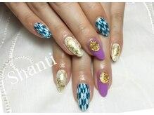 シャンティ ネイルサロン(Shanti nail salon)/成人式お正月 和柄ネイル☆