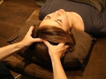 マッサージ整体 緑和の写真/【脳を溶かすような気持ちよさ!大人気ヘッドスパが30分4200円~】頭部の血行改善ですっきり!小顔効果にも◎