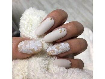 ビューティーネイルズ メロウ(Beauty Nails mellow)/季節のジェルネイル 8800円