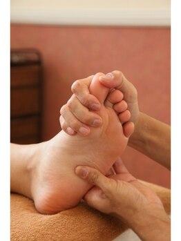ケーズハート(K's heart)/足のムクミはリンパデトックス
