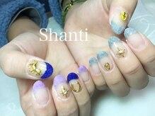 シャンティ ネイルサロン(Shanti nail salon)/個性派モコモコベルベットネイル