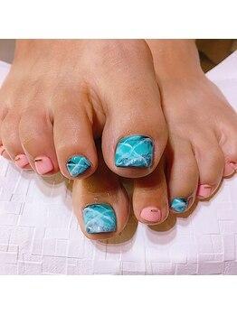 ネイル アローズ(Nail ARROWS)/Footデザインコース ¥7,560