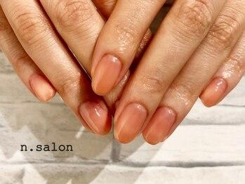 エヌサロン(n.salon)/パラジェルワンカラー血色カラー