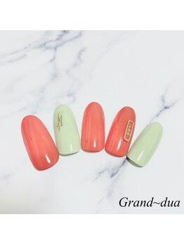 グランドゥア(Grand dua)/ハンド/持ち込みデザイン¥6270