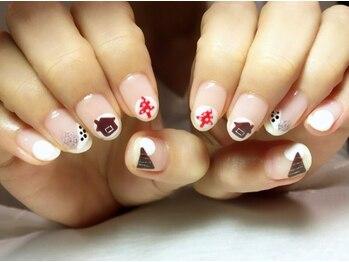 シャンティ ネイルサロン(Shanti nail salon)/冬のカジュアルネイル♪