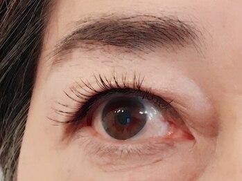 アイビューティー リコ ギンザ(eye beauty LICO ginza)/アップワード×フラットラッシュ
