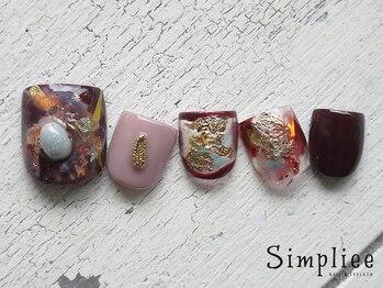 シンプリー ネイルアンドアイラッシュ 祖師谷大蔵店(Simpliee Nail&Eyelash)/定額ネイル