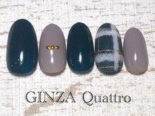 ギンザ クワトロ(GINZA Quattro)/定額/LuxuryA 6500円/ネイビー