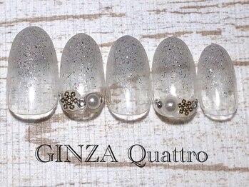 ギンザ クワトロ(GINZA Quattro)/定額/LuxuryA 6500円/シルバー