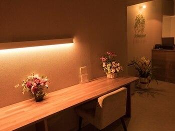 エスブーケ(S-Bouquet)の写真/辻堂New open★贅沢半個室空間!香りからも癒されるオールハンドアロマリンパボディで日々の疲れを解消♪