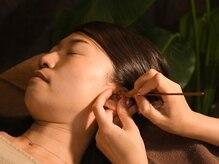 丁寧に耳かきを行って耳全体がスッキリした感覚に。
