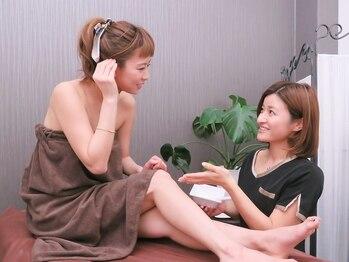 リリーサロン 松本(LILY Salon)の写真/《秋キャンペーン★》効果◎プレミアム360°全身脱毛(顔・VIO込)+美肌パック付1回¥4980♪