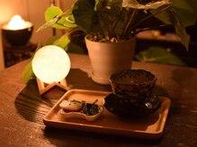 ブライト ムーン(Bright moon)の雰囲気(施術後もリラックス…♪お茶とお菓子で、ゆったり気分に。)