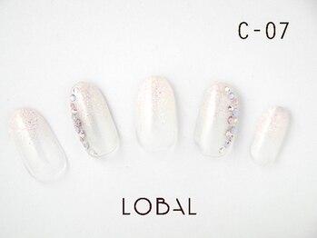 ロバル ネイルアンドまつげ(LOBAL)/ハンドネイルC‐07