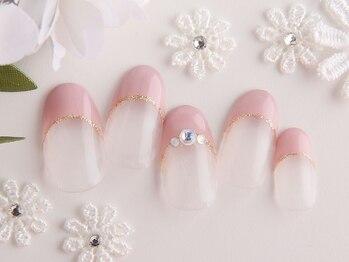 ネイルサロン クバーナ 西葛西店(CUBANA)の写真/お仕事にもOKなシンプルネイル☆ベージュやピンク・グレージュカラーは手先を美しく見せてくれます!