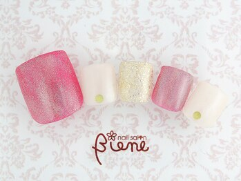 ネイルサロン ビーネ(nail salon Biene)/オフ無料★3月リピート9980-12