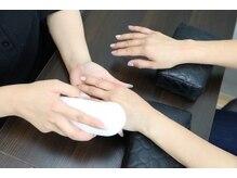 ネイルズ アヴァンティ(Nails Avanti)の雰囲気(ネイルと一緒にハンドエステで手も綺麗に!手のエイジングケア♪)