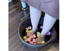 フレスコ 池袋西口店の雰囲気(足浴でポカポカスッキリリフレクソロジーむくみ解消◎)