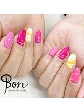 ネイルアトリエ ボン(nail atelier bon)/フラワーネイル♪
